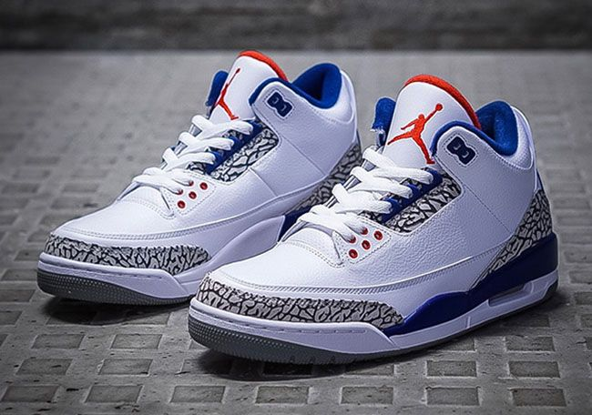 Air Jordan 3 OG True Blue 2018  ffe6de9bd