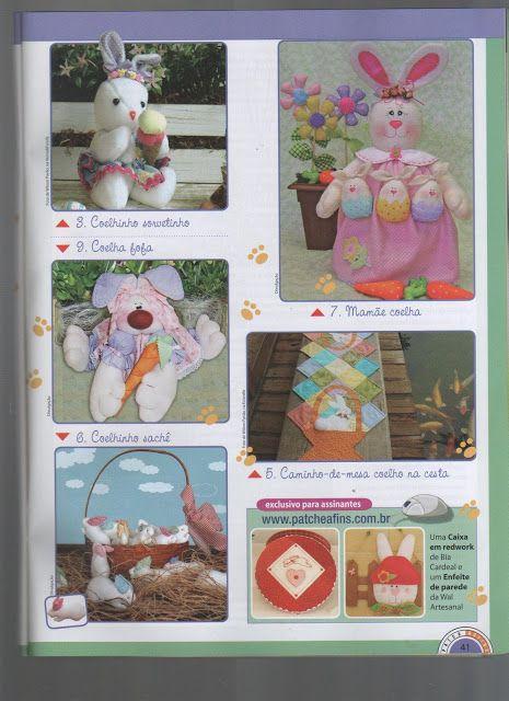 Varios Proyectos Pascuas - Fuxico, Patchwork, Quilt Books Patch e Afins N37 - Yolanda J - Álbumes web de Picasa