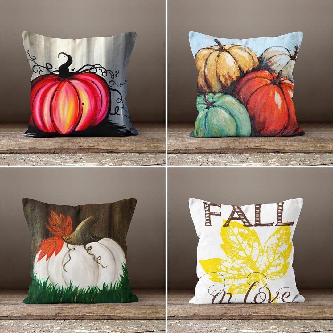 Happy Halloween Pumpkin, Fall Decorative Pillows