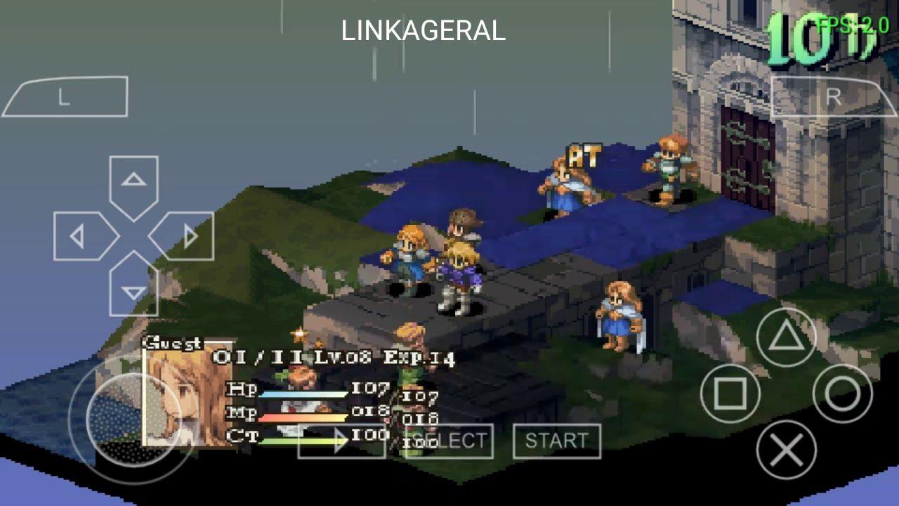Como Baixar Final Fantasy Tactics Para Android Jogos Psp Com