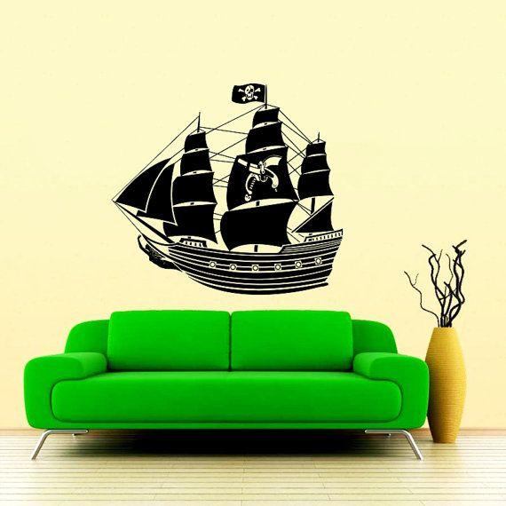 Lovely Pirate Ship Wall Decor Ideas - Wall Art Design ...