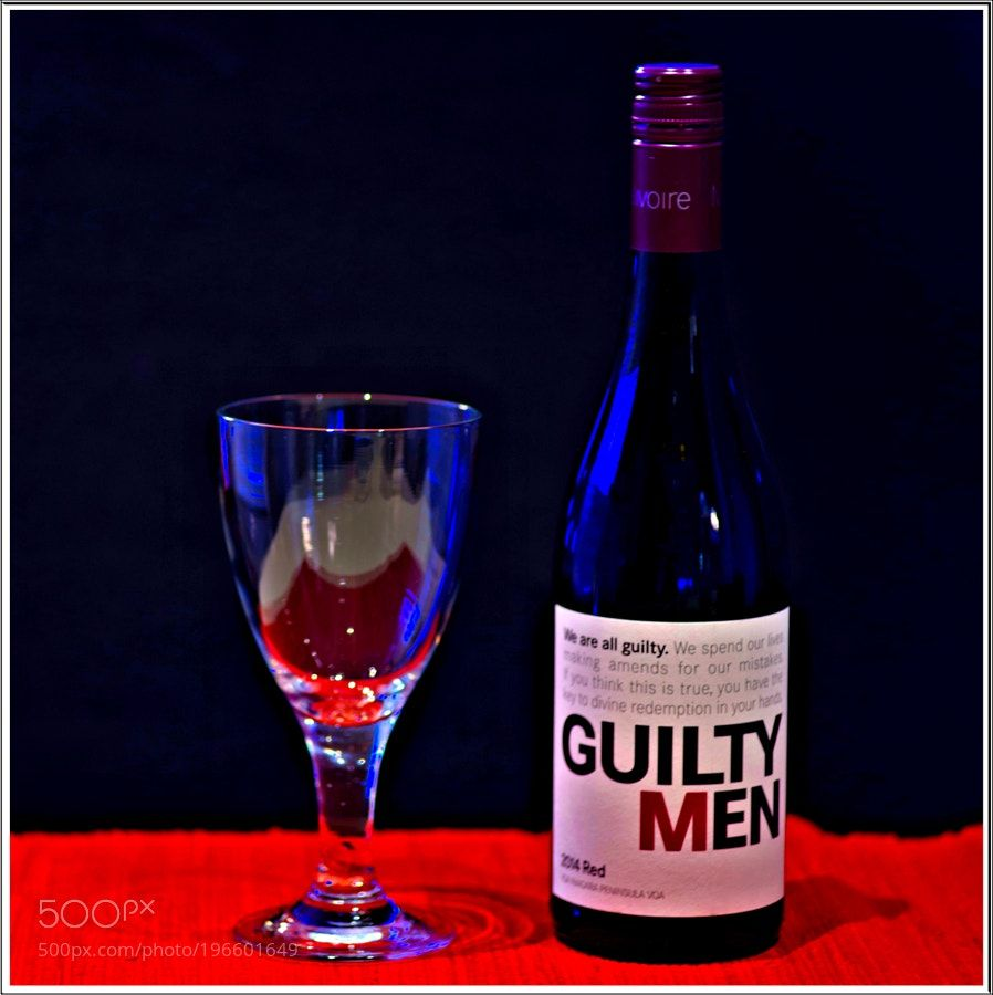 Guilty Men Red Wine by Annaxx