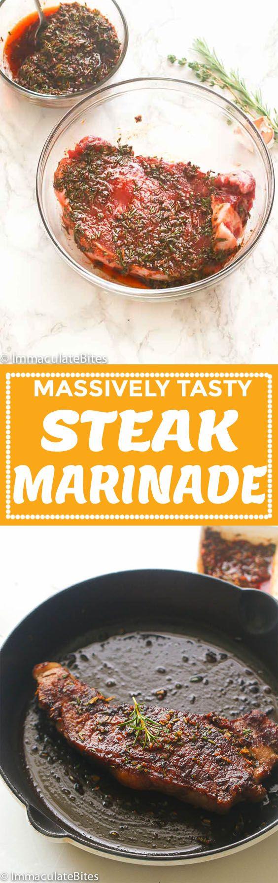 Steak Marinade | Recipe | Immaculate Bites Blog Recipes