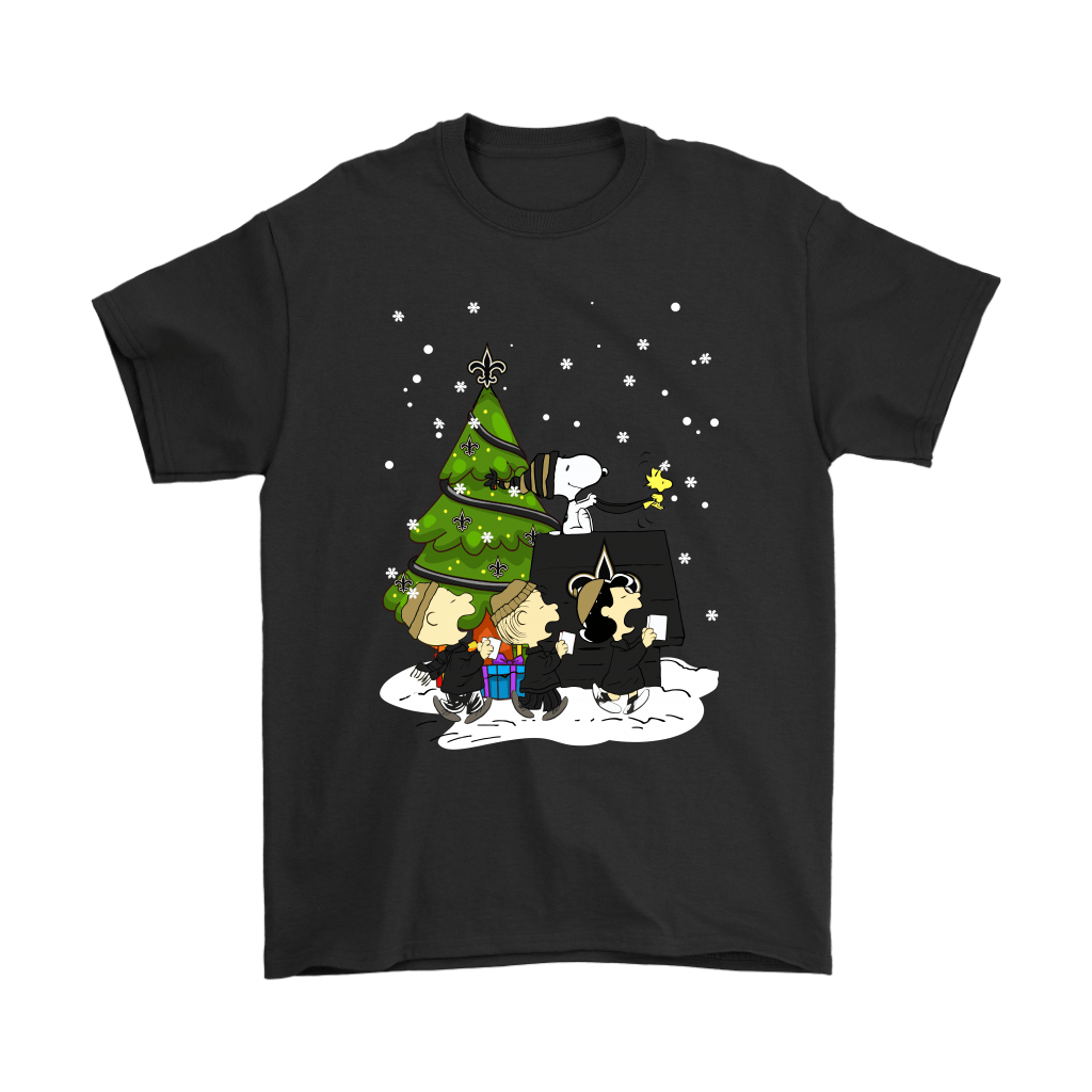 New Orleans Saints Are Coming To Town Snoopy Christmas