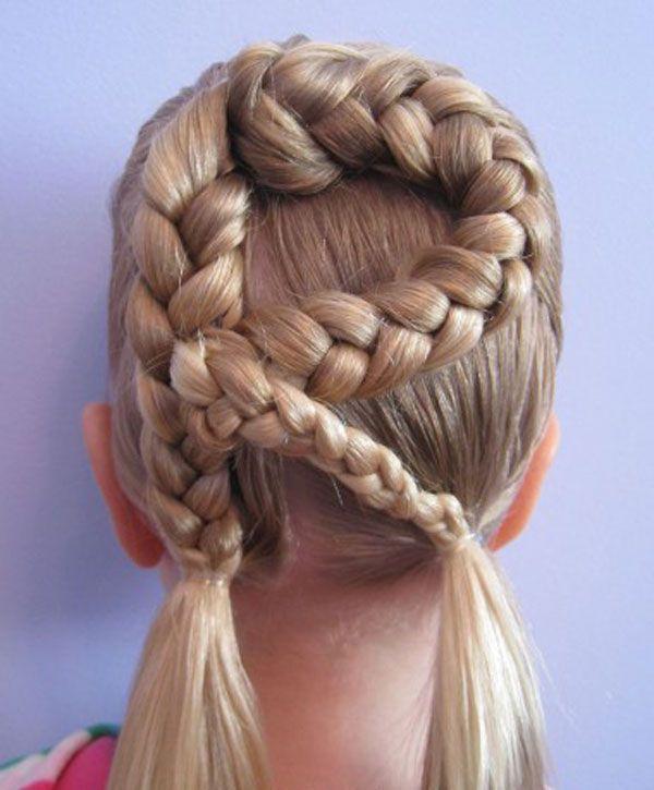Cool Braided Hairstyles Pinkara Davis On Hair  Pinterest  Kid Braids Braid Designs