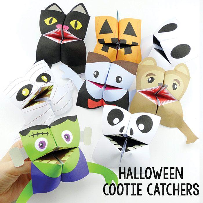 halloween origami for kids