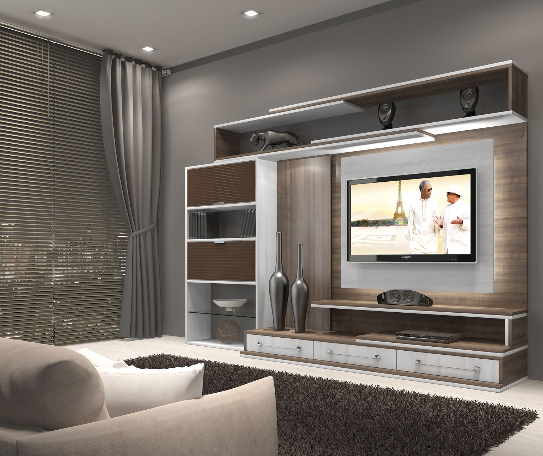 Home theater otimize modulados m veis planejados tv - Muebles pedro alcaraz ...