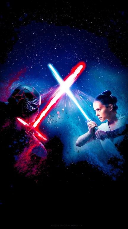 The Rise Of Skywalker Amoled Mobile Wallpaper 2250x4000 Amoledbackgrounds Star Wars Wallpaper Iphone Star Wars Background Star Wars Wallpaper