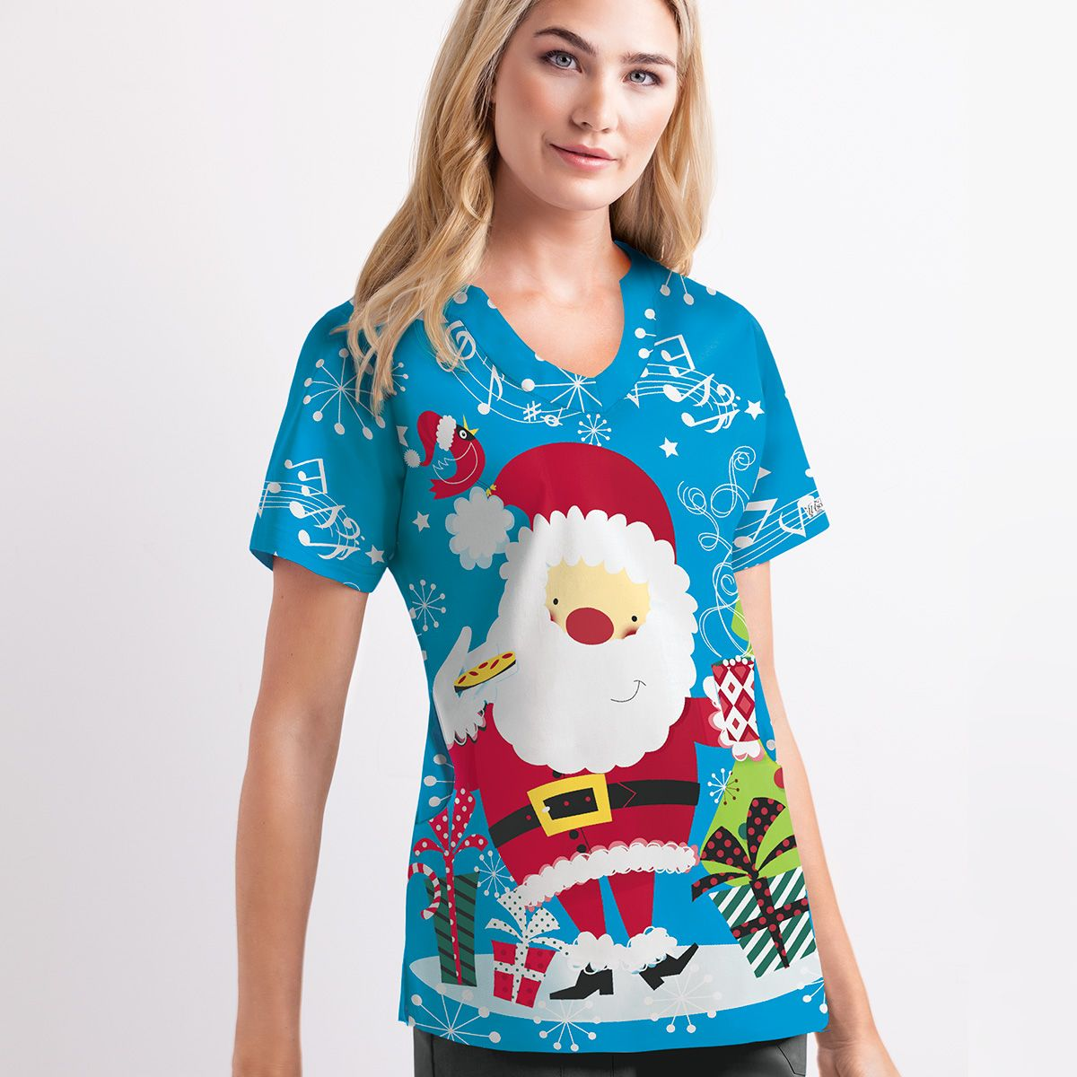 Sleigh in the holiday cheer! | Christmas scrubs, Stylish ...
