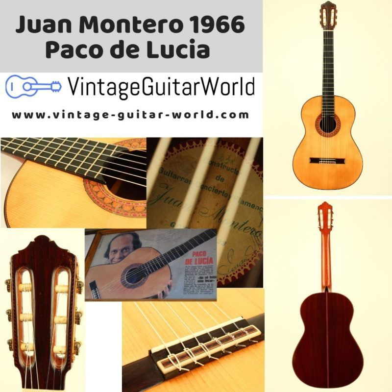 Juan Montero Aguilera Is One Of The Few Famous Spanish Guitar Builders Whos Guitars Are Played By Many Professional Guitarists Paco De Lucia Eloy Beauty First