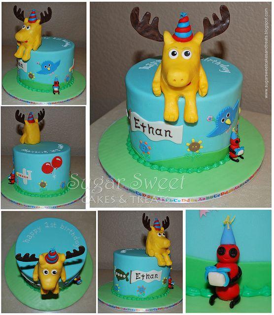 2010 01 Moose A Moose Nickjr Noggin Cake Cake My Sugar Sweet