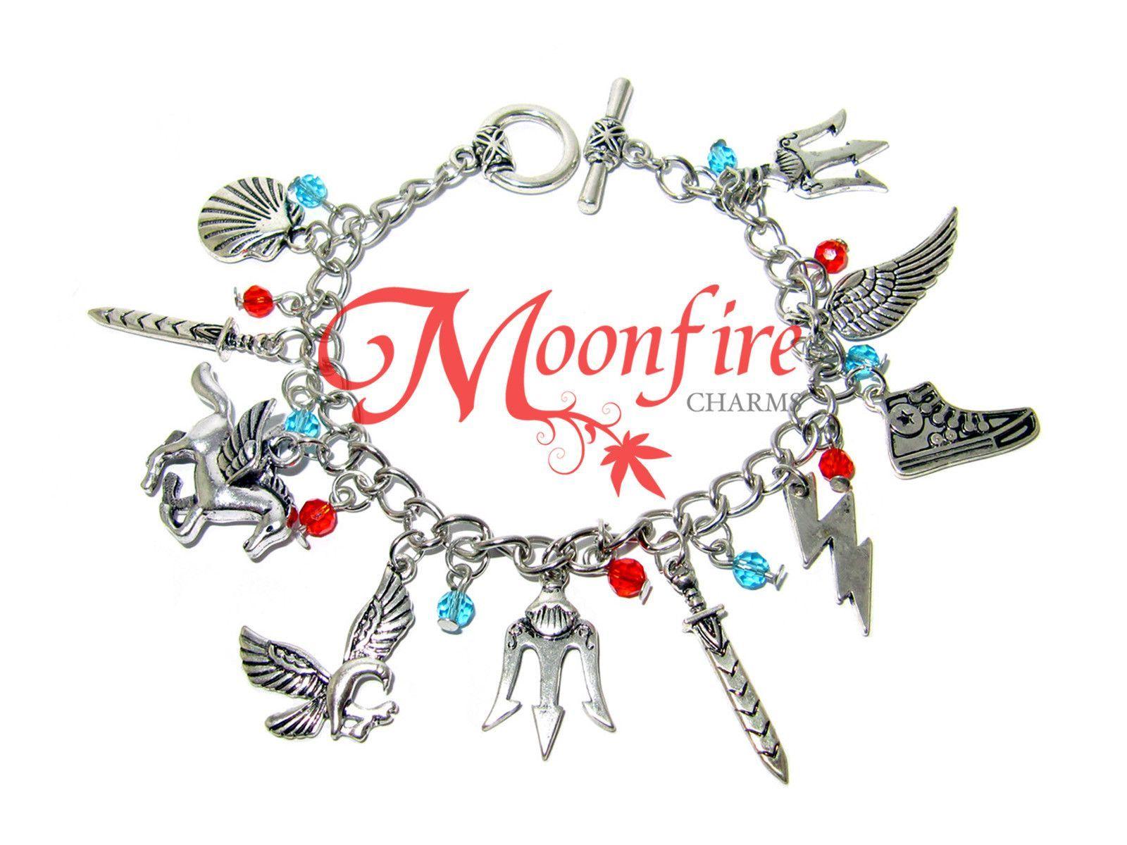 PERCY JACKSON Fandom Charm Bracelet