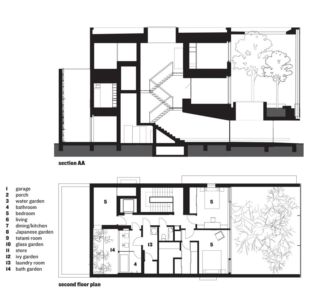 modern japanese house design by hiroshi nakamura Modern House