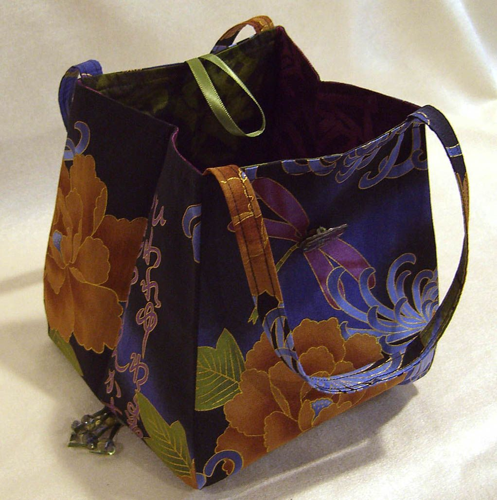 Free fabric handbag patterns lazy girl