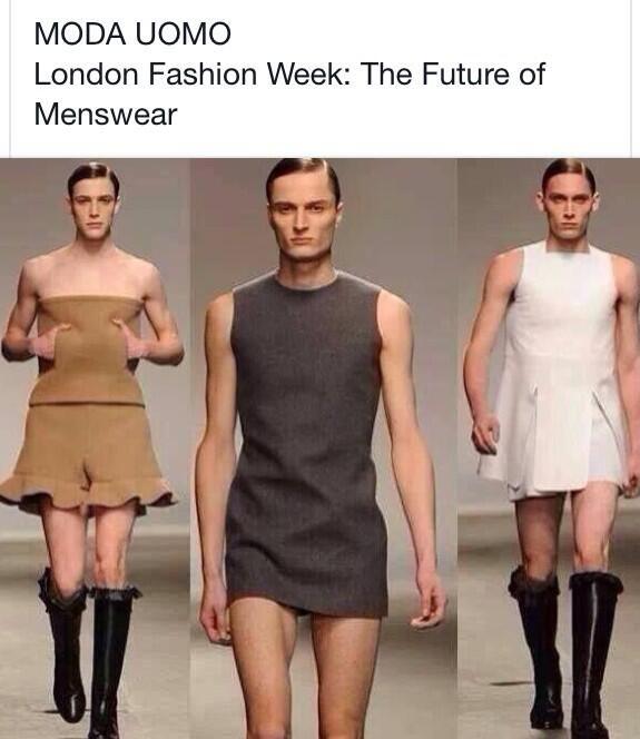 The future of menswear???