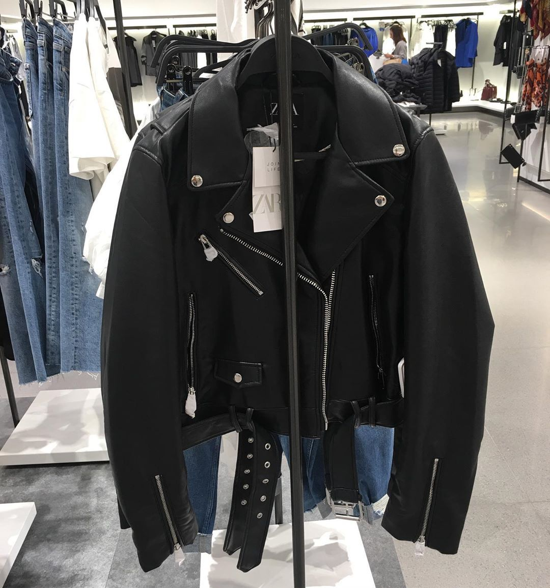 Zara Deri Ceket 299 95 Kadin Women Moda Fashion Stil Style Womenfashionstyle Styleblogger Fashionblogger Alisveris Shop Deri Ceket Moda Shopping