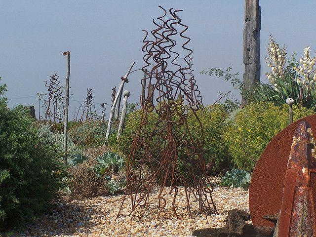 Derek Jarmans Garden By Smokingcow Via Flickr Garden Totems Garden Design Landscape Design