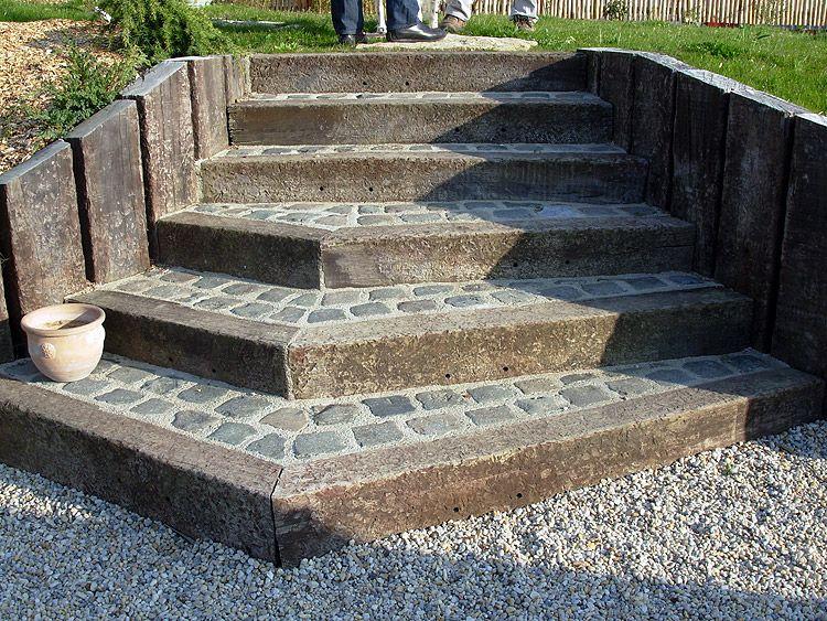 Escalier ext rieur pav recherche google dizain for Escalier exterieur granit
