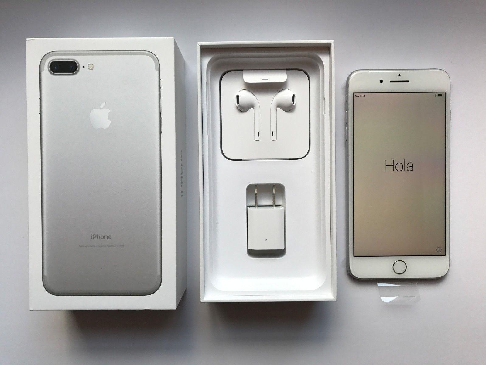 Apple Iphone 7 Plus 256 Gb Silver Unlocked Verizon Brand New Iphone 7 Plus Iphone Iphone 7