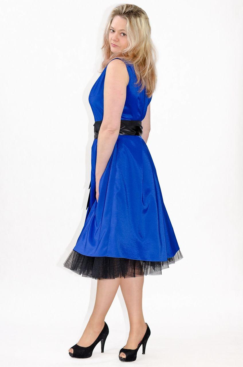 abee7093fb Elegancka sukienka XXL TINA duże rozmiary 40-52 na wesele - XELKA ...