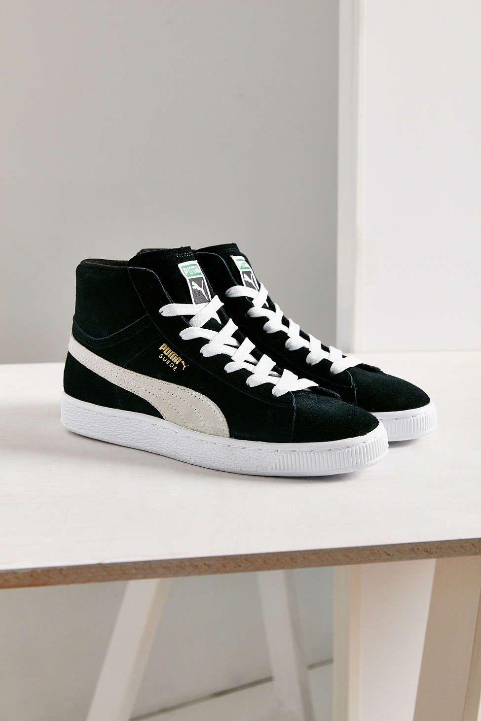 Puma Suede Classic Mid Jr Sneaker