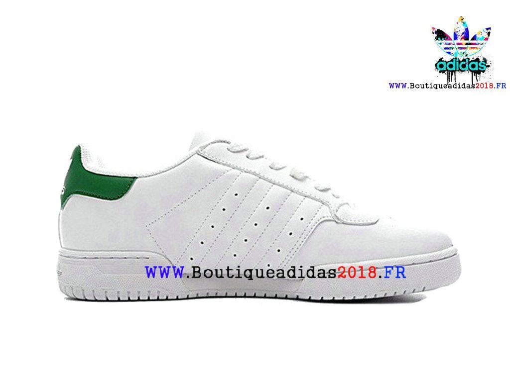 07790ab93b6 Nouveau Yeezy x adidas Originals Powerphase Kanye West Calabasas  Homme Femme White Green CQ1695-Adidas Originals (FR)