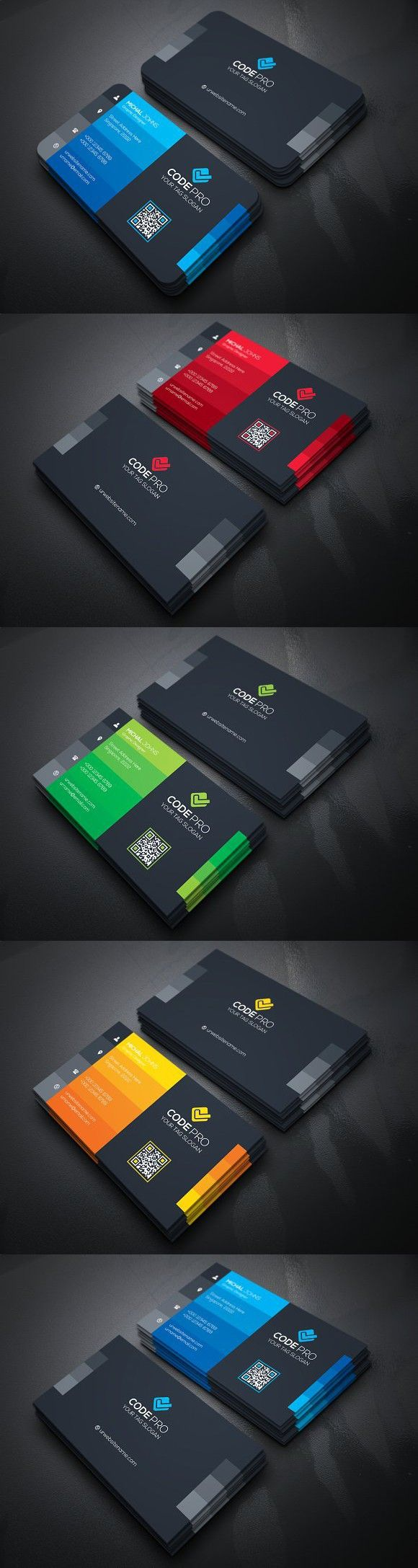 Multipurpose Business Card. Business Card Templates | BusCard ...