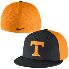 quality design 7e6c6 7fa60 ... where to buy tennessee volunteers nike players true vapor swoosh  performance flex hat black 084a4 39cff