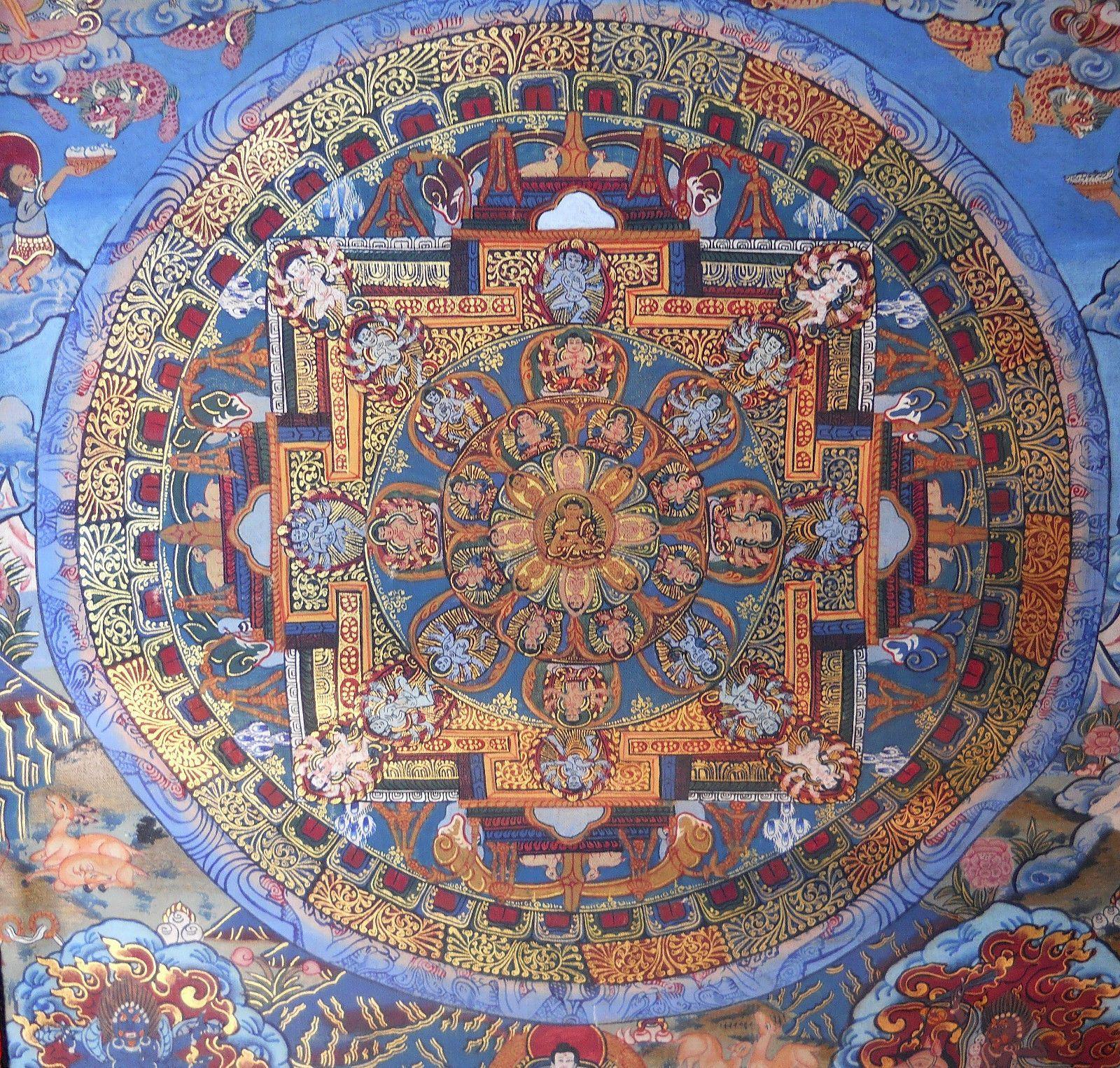 tibetan mandala designs   ... YANTRA BUDDHA DEITY MANDALA TIBETAN ...
