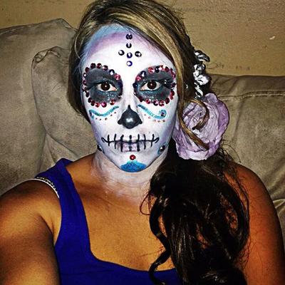 Please vote for this entry in Día de los Muertos Face