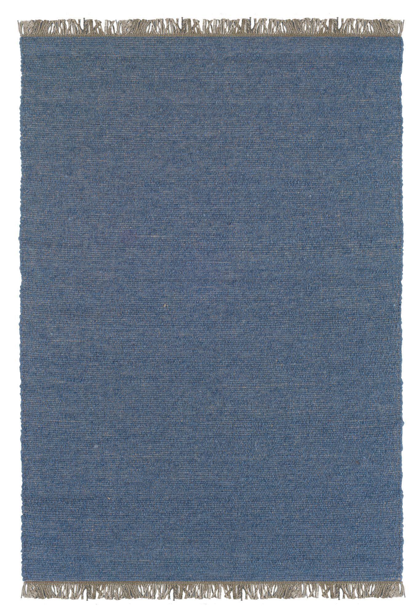 Vanderbilt Hand-Woven Blue Area Rug