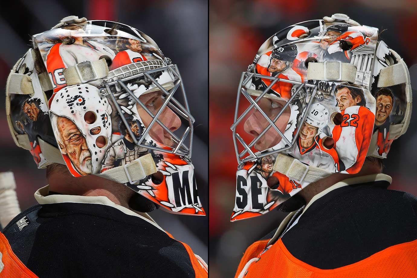 Philadelphia Flyers Steve Mason NHL Goalie Mask (2016