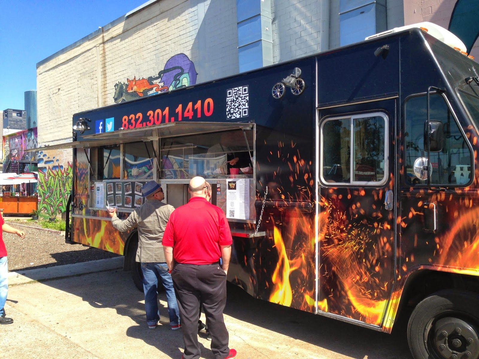 Reigns food truck houston tx