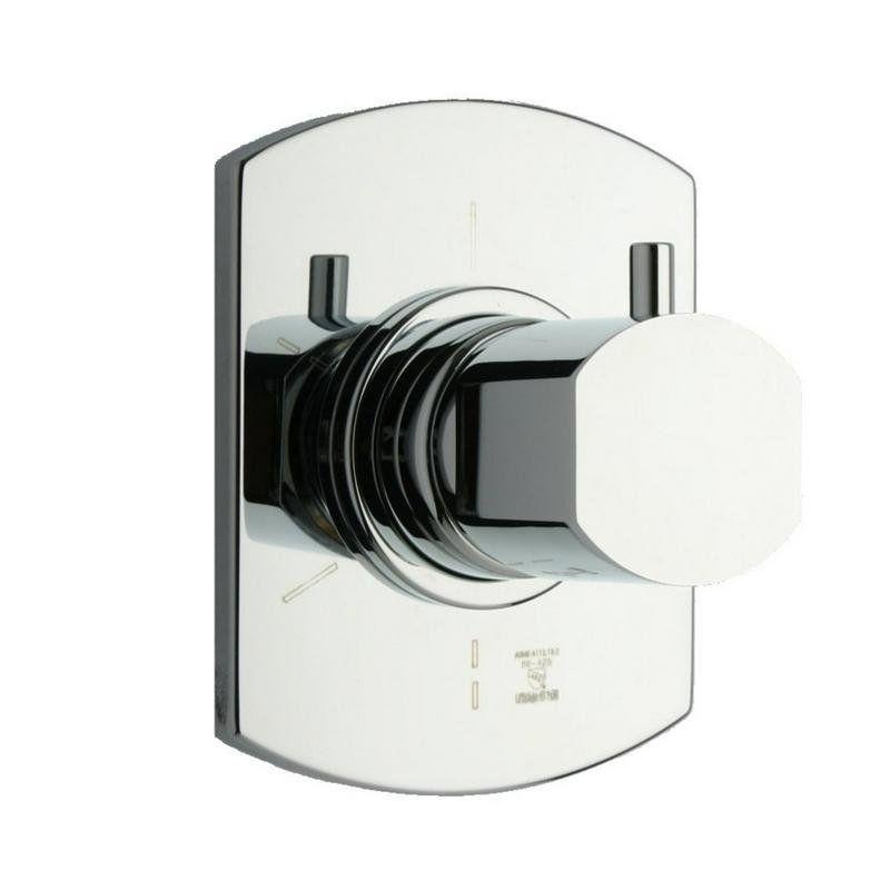 Latoscana Novello 3 Way Diverter Complete Unit Brushed Grey