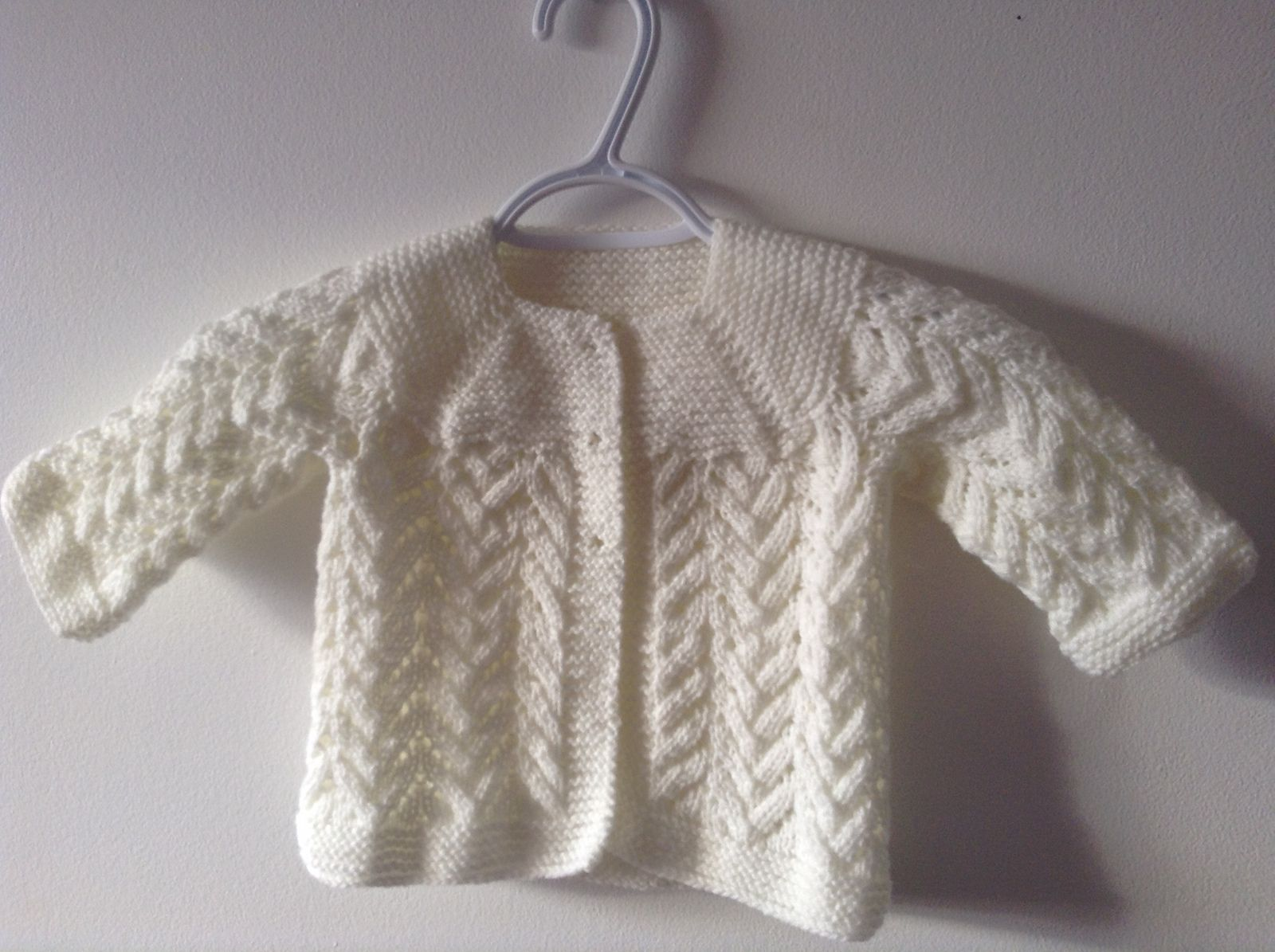 Ravelry: Baby Lace Cardigan by Beyhan Çayır | Baby knitting ...