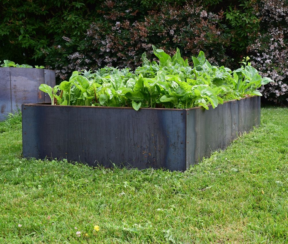 Metal Planter Boxes From Corten Steel