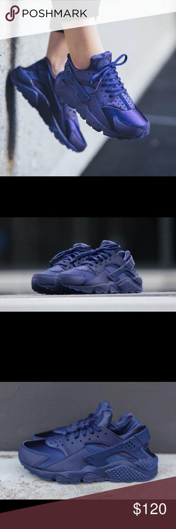 "Spotted while shopping on Poshmark: Nike Huarache "" Run Royal ""! #poshmark #fashion #shopping #style #Nike #Shoes"