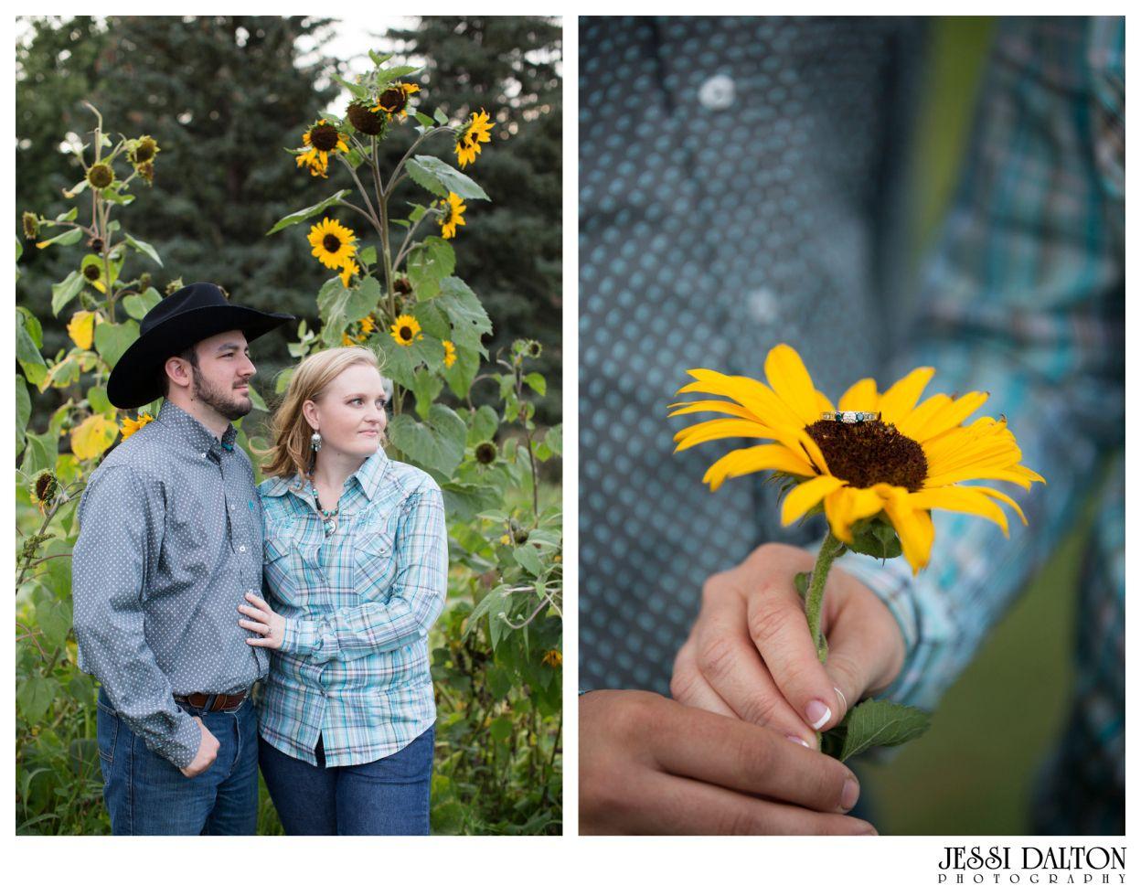 Country Engagement Session at Rock Ledge Ranch in Colorado Springs, Colorado | Jessi Dalton Photography | www.jessidalton.com