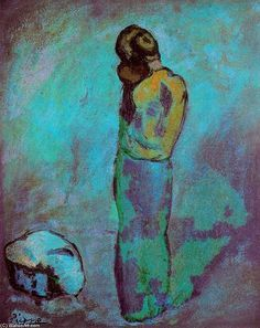 Pablo Picasso (1881-1973, Spain). Love the colours used