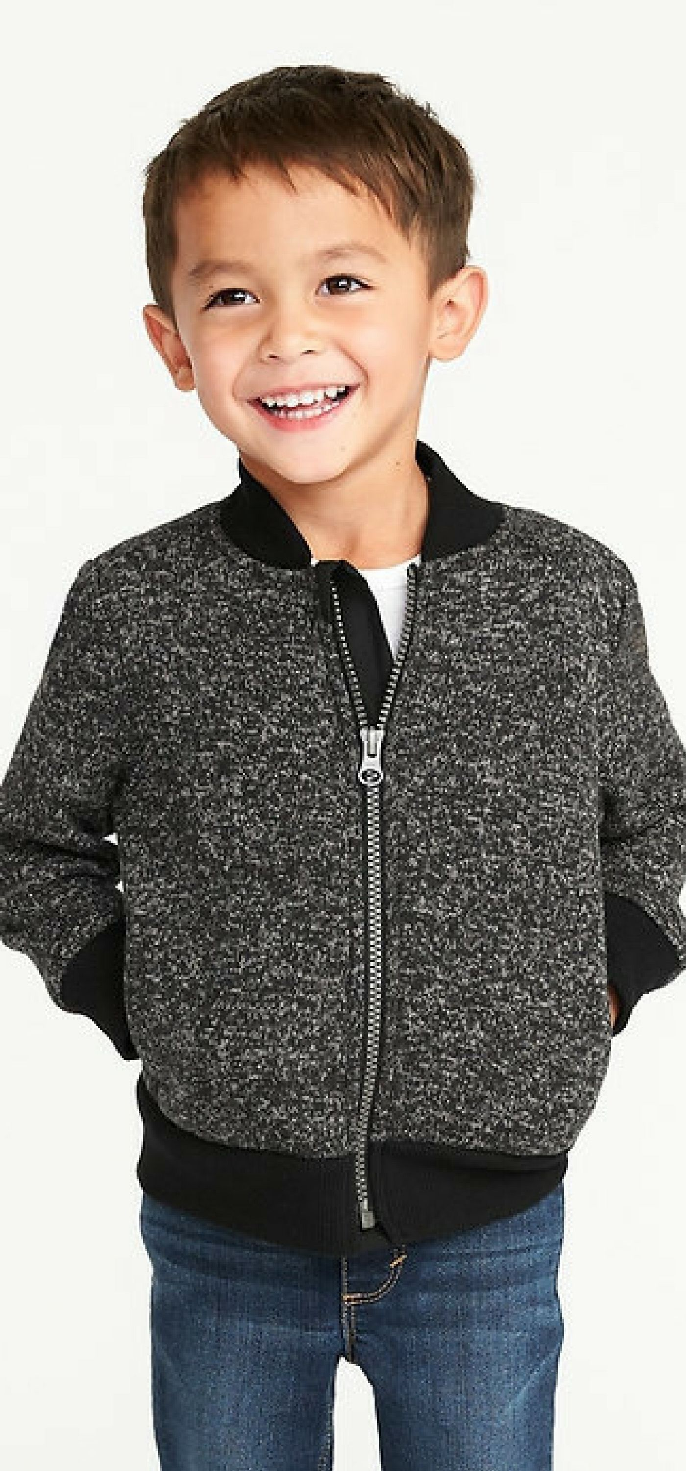 This little bomber jacket looks so warm and cute!!! #shopping #ad #love #boy #kids