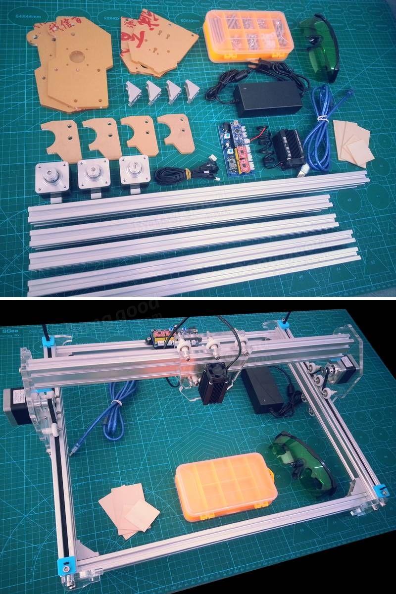5.5W Desktop DIY A3 Laser Engraver Engraving Machine 3d
