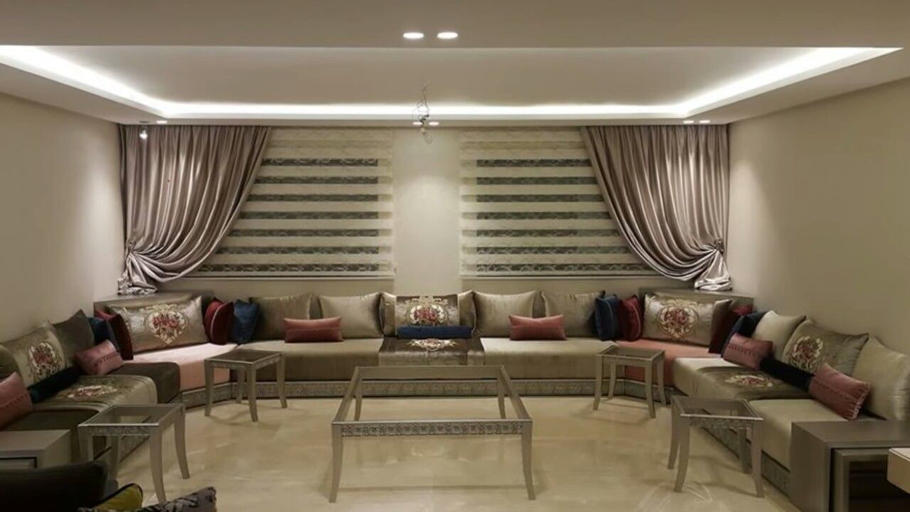 moroccan living rooms modern ceiling design. Moroccan Living Rooms, Ceiling Design, Style, Room Modern,  Curtains, Ceiling, Tapestry, Kaftan, Roof Design Moroccan Living Rooms Modern Ceiling Design
