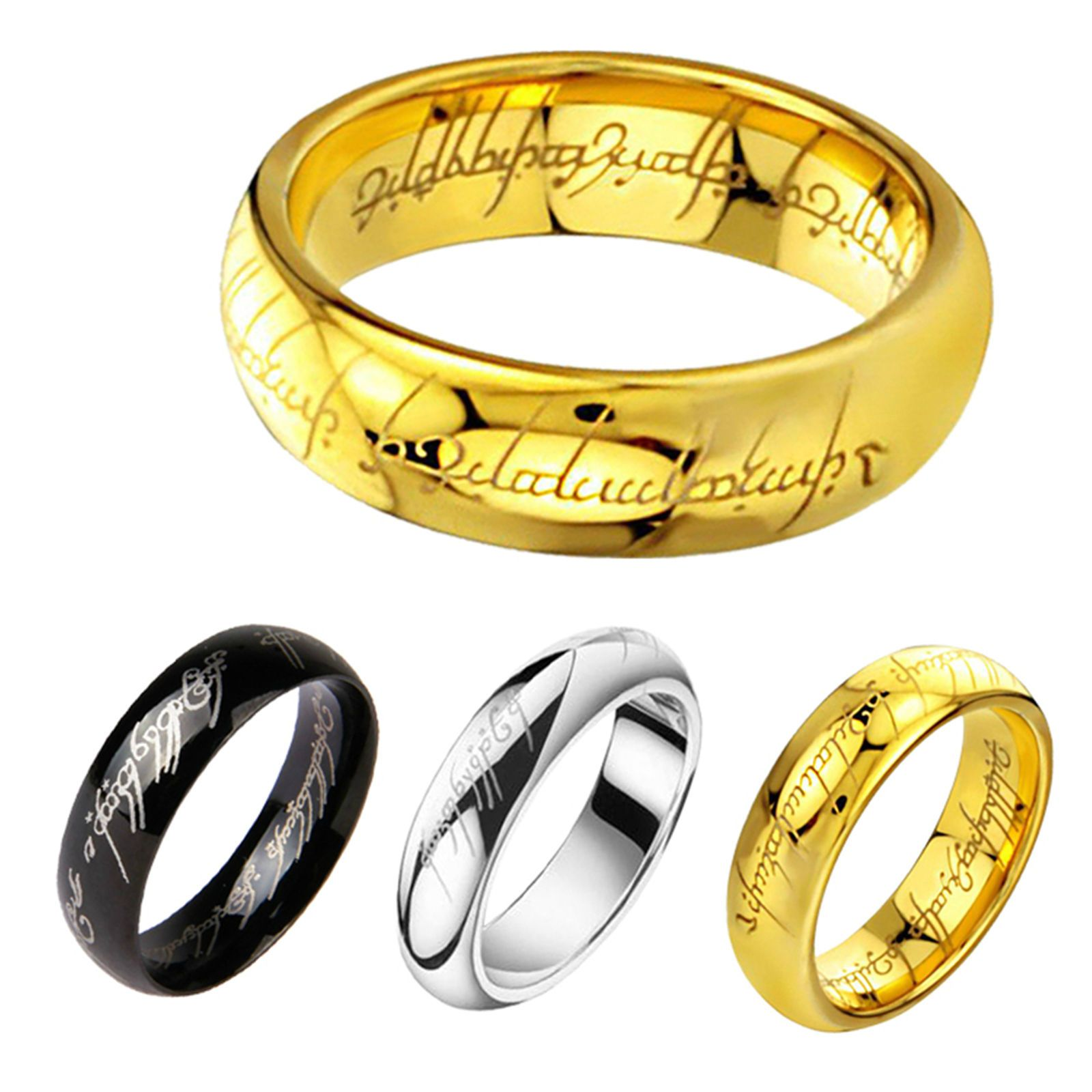Lord Of The Rings The One Ring Lotr Stainless Steel Fashion Men S