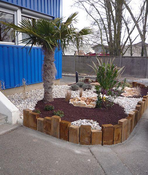Les Bordures Les Rondins Les Traverses Paysag Res 2014 Comptoir Des Bois Jardin