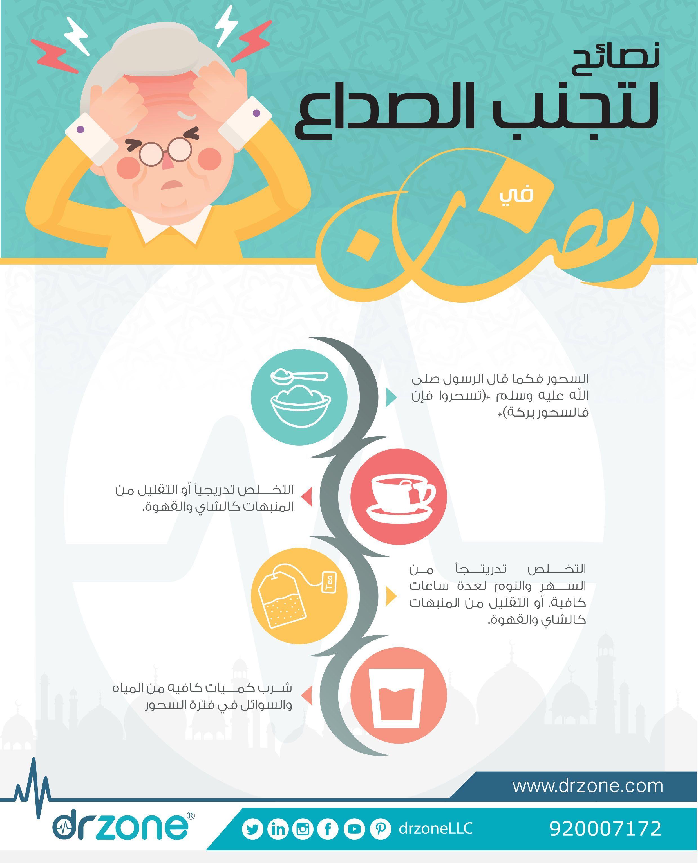 نصائح لتجنب الصداع في رمضان مسابقة دكتور زون الرمضانية Healty Diet Health Healty