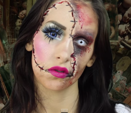 13 Scary Halloween Makeup Looks That Give Us Nightmares | Scary ...