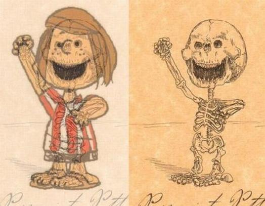 Anatomy Of Cartoon Characters Bone Collector Pinterest Anatomy