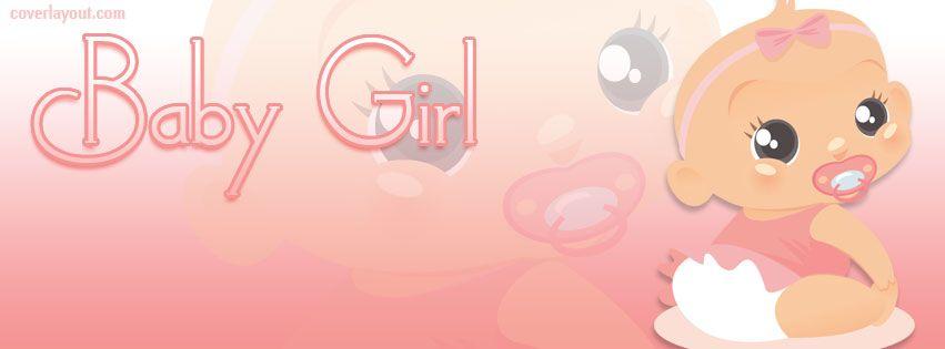 Baby Girl Pink Facebook Cover Baby Girl Pink Facebook Cover Photo Pink Girl Baby Girl Baby Shower Facebook