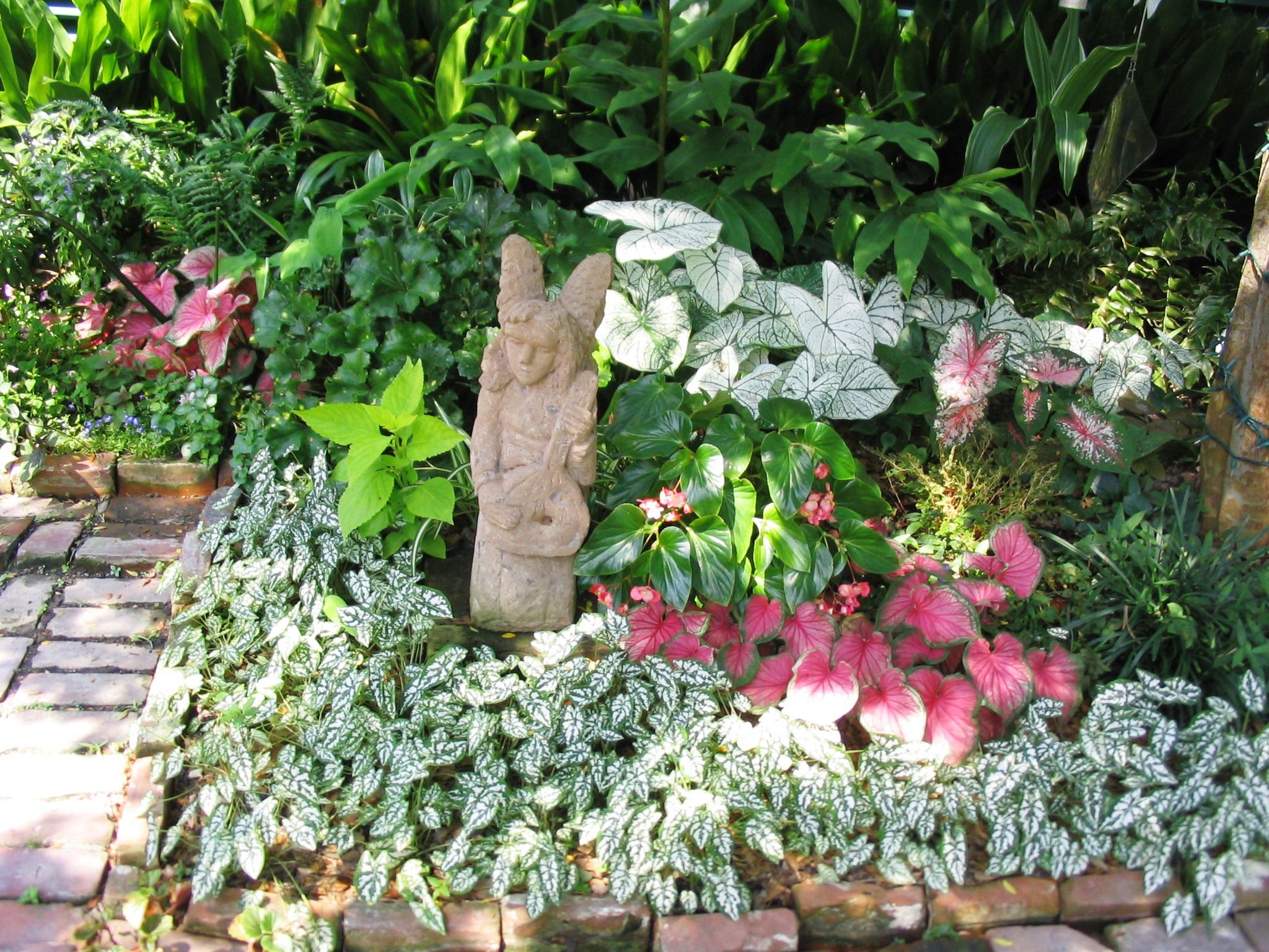 Partial Shade Garden Designs Shade Gardening Takes Planning
