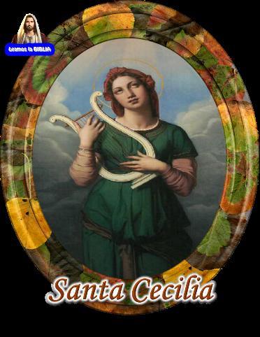 Leamos la BIBLIA: Santa Cecilia